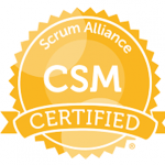 Scrum Alliance CSM Certified logo